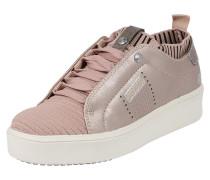 Sneaker rosegold / rosa / schwarz
