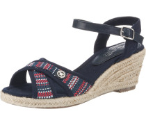 Sandaletten navy / mischfarben