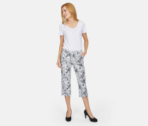 Jeans grau / weiß