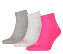 Socken grau / pink
