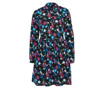 Kleid 'brunas' mischfarben / schwarz