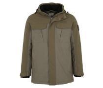 Isolierende Jacke 'Lipezk1' grau / khaki