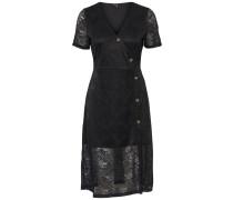 Kleid braun / schwarz