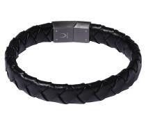 Armband 'Black Business Matt Steel'