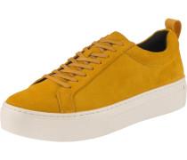 Sneaker 'Zoe' gelb / senf