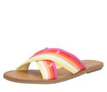 Sandale 'viv' beige / mischfarben