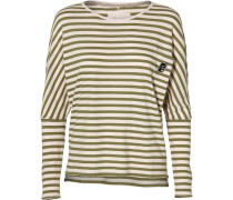 Shirt 'LW ESS Striped' oliv / puder