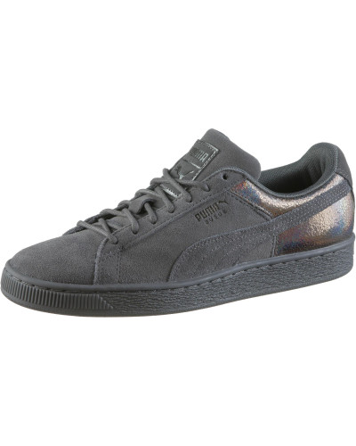Puma Damen 'lunalux' Sneaker silbergrau Neuankömmling zYhFzQlR