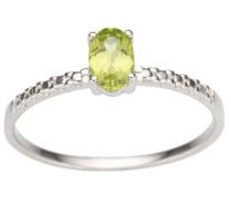 jewels Fingerring grün / silber