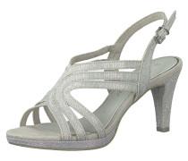 Sandalette silber