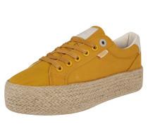Sneaker 'wanda' senf