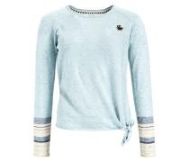 Pullover 'verm' navy / hellblau / weiß