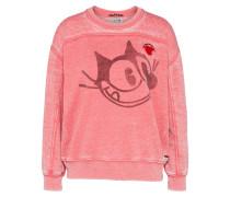 Sweater 'Felix the cat' himbeer