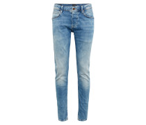 Jeans 'zinc CUT Worn' blue denim