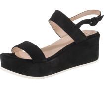Sandaletten 'Kim' schwarz