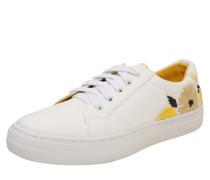 Sneakers 'Pompei' creme / gelb / weiß