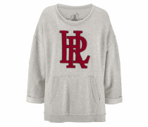 Sweatshirt 'rosa' weißmeliert