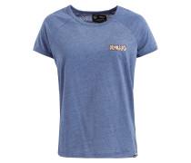 Shirt Jamuna Embro blaumeliert
