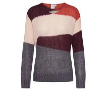 Pullover 'eleanor' grau / rosa