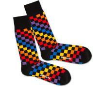 Socken 'Rainbow Chess' mischfarben