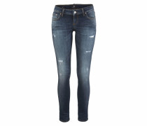 Slim-fit-Jeans 'Mina' blue denim