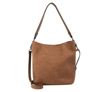 Schultertasche 'pctherese' cognac
