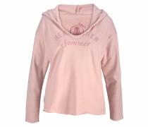 Kapuzensweatshirt 'sonja' rosa