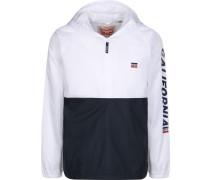 Windbreaker 'Packable Sport' schwarz / weiß