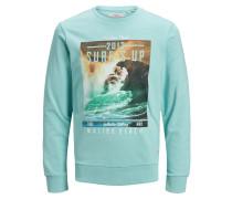 Fotoprint Sweatshirt blau