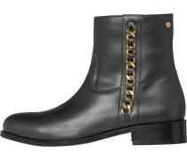 Boots gold / schwarz