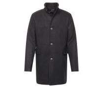 Mantel 'slhmosto Wool Coat' schwarz