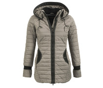 Jacke 'midd' taupe