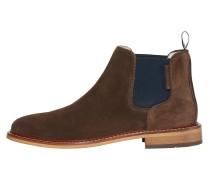 Chelsea-Boots kastanienbraun / schwarz