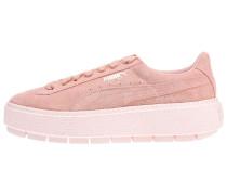 'Platform Trace' Sneaker rosa
