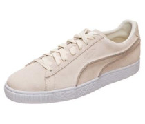 'Suede Classic Exposed Seams' Sneaker beige
