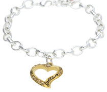 Armband 'ubb12908' gold / silber