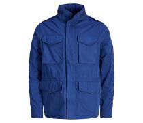 Feld Jacke blau
