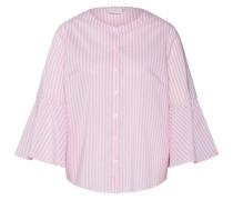 Bluse 'Dorthe' pink / weiß