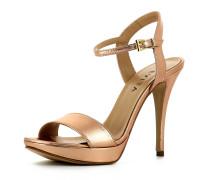 Damen Sandalette altrosa
