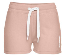Shorts nude / weiß