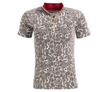 Shirt 'karlotta' braun / rot