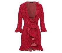 Kleid 'bethany' rot / weiß