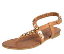 Sandale mit Steinchenbesatz