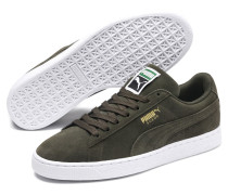 Suede Classic+ Sneaker oliv