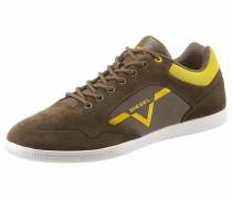 Sneaker braun / gelb