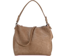 Handtasche 'Alina' hellbeige