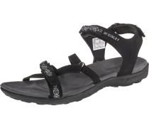 Sandalen 'Aruba W' schwarz / weiß