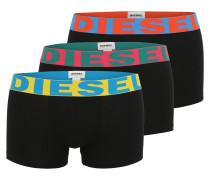 Pants im 3er-Pack schwarz