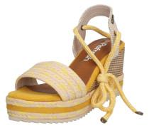 Sandalen '69682' sand / gelb