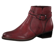 Stiefelette 'Marly' dunkelrot